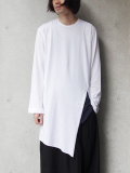 "【18AW】 BED J.W. FORD (ベッドフォード) ""Back henry neck"" 18AW-B-CS04 <カットソー>  - WHITE"
