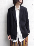 "【18AW】 BED J.W. FORD (ベッドフォード) ""Ribbon jacket"" <テーラードジャケット>"