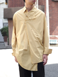 "【18AW】 BED J.W. FORD (ベッドフォード) ""Pullover shirt"" 18AW-B-BL06 <シャツ> - YELLOW"
