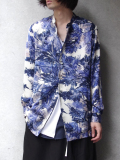 "【18AW】 BED J.W. FORD (ベッドフォード) ""Stand collar shirt"" 18AW-B-BL09 <シャツ> - 全2色"