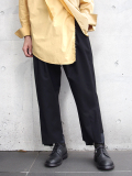 "【18AW】 BED J.W. FORD (ベッドフォード) ""Wide pants"" <パンツ>  - BLACK"