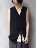 "【SALE】 BED J.W. FORD (ベッドフォード) ""No sleeve."" 18SS-B-CS06 <カットソー> - BLACK"