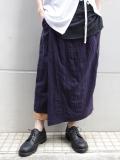 "【18SS】 BED J.W. FORD (ベッドフォード) ""Gurkha skirt."" 18SS-B-PT01 <パンツ> - 全2色"
