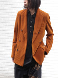 "【SALE:2020AW】 BED J.W. FORD (ベッドフォード) ""Corduroy Double Jacket"" <ジャケット>"