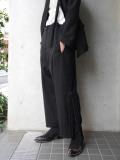 "【2020SS】 BED J.W. FORD (ベッドフォード) ""Wool Over Pants"" <パンツ> - BLACK"