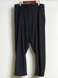 "【2020SS】 BED J.W. FORD (ベッドフォード) ""Wool Easy Pants"" <スラックス> - BLACK"