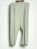 "【2020SS】 BED J.W. FORD (ベッドフォード) ""Wool Easy Pants"" <スラックス> - MINT"