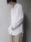 "LAST 1.【SALE:2020SS】 BED J.W. FORD (ベッドフォード) ""Ribbon Shirt"" <シャツ> - WHITE"