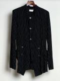 "【2020SS】 BED J.W. FORD (ベッドフォード) ""Stand Collar Stripe Jacket"" <ジャケット>"