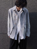 "【2021SS】 BED J.W. FORD (ベッドフォード) ""INNER BLOUSON FEATHER PATTERN"" <ブルゾン>"