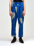 "【2021SS】 BED J.W. FORD (ベッドフォード) ""JACQUARD TAPERED TROUSERS"" <パンツ> - BLUE"