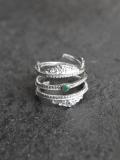"""【再入荷】BED J.W. FORD (ベッドフォード) """"Silver Roll Ring."""" <シルバーリング>"""