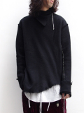 "【17AW】 BED J.W. FORD (ベッドフォード) ""Turtle Neck."" <タートルネックニット> - BLACK"