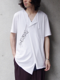 """【17PRE-FALL】 BED J.W. FORD (ベッドフォード) """"WHITE Graphic ver.1"""" <カットソー>"""