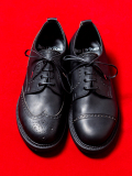 "【本日入荷】 KIDS LOVE GAITE × BED J.W. FORD ""ASYMMETRY BROGUE SHOES with GUIDI LEATHER"" <レザーシューズ>"
