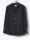 "【18SS】 BED J.W. FORD (ベッドフォード) ""Open collar shirt ver.2"" 18SS-B-BL09-1 <シャツ>"