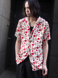 "【18SS】 BED J.W. FORD (ベッドフォード) ""Queen summer shirt."" 18SS-B-BL07 <シャツ> - LIGHT (ホワイト系)"