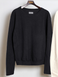 "【19AW】 BED J.W. FORD (ベッドフォード) ""Crew neck"" <カットソー> - CHARCOAL"