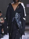 "【19SS】 BED J.W. FORD (ベッドフォード) ""Long shirt"" <ロングシャツ> - BLACK"