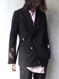 """【19SS】 BED J.W. FORD (ベッドフォード) """"Oriental jacket"""" <ノーカラージャケット>"""