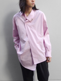 "【19SS】 BED J.W. FORD (ベッドフォード) ""Pull over shirt ver.2"" <シャツ> - PINK"