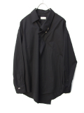 "【19SS】 BED J.W. FORD (ベッドフォード) ""Pull over shirt ver.2"" <シャツ> - BLACK"