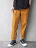 "LAST 1pc.【19SS】 BED J.W. FORD (ベッドフォード) ""Basic pants"" <スラックス> - MUSTARD"
