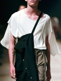 """【19SS】 BED J.W. FORD (ベッドフォード) """"Cut cut-saw"""" <カットソー> - WHITE"""