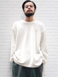 "【2020AW】 ANEI (アーネイ)  ""W.C. SWEAT LOOSE"" <スウェット> - LT. GRAY"