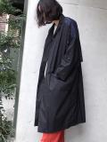 """<18SS> Dulcamara (ドゥルカマラ) """"バックレイヤードCT コート"""" - BLACK"""