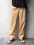 "<19SS> Edwina Horl  (エドウィナホール) // ""WIDE PANTS"" <ワイドパンツ> - TOPAZ(YELLOW)"