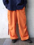 "<20SS> Edwina Horl  (エドウィナホール) // ""CARGO PANTS"" <カーゴパンツ> - orange"