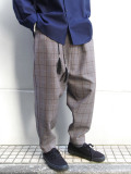 "<20SS> Edwina Horl  (エドウィナホール) // ""WIDE PANTS"" <ワイドパンツ> - plaid"