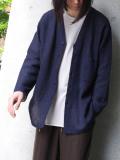 "<ARCHIVE COLLECTION> Edwina Horl  (エドウィナホール) // ""SUMMER CARDIGAN"" - NAVY"