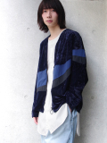 "<19SS> Edwina Horl  (エドウィナホール) // ""VELOUR ZIP UP BLOUSONW"" <ブルゾン>"