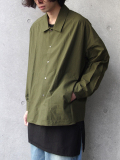"<17SS>FFIXXED STUDIOS  (フィックス) // ""FALL BACK SHIRT"" <ジャケット> - ARMY GREEN"