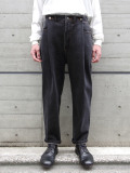 """<19AW>FFIXXED STUDIOS  (フィックス) // """"IN OUT JEANS"""" <デニム / パンツ> - BLACK"""