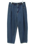 """<19AW>FFIXXED STUDIOS  (フィックス) // """"IN OUT JEANS"""" <デニム / パンツ> - BLUE"""