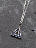 """Garden of Eden (ガーデンオブエデン) """"SILVER TRIANGLE NECKLACE"""" <シルバーネックレス>【送料無料】"""