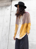"GILET (ジレ) ""REMAKE SILK SHIRT"" <リメイクシルクシャツ>"