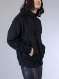 "【SALE:2020AW】 Iroquois (イロコイ) ""BEAVER HOODIE"" <ニット> - BLACK"