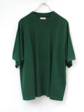 "【SALE:2020SS】 Iroquois (イロコイ) ""C/R CABLE KNIT"" <サマーニット> - GREEN"