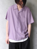 "【SALE:2020SS】 Iroquois (イロコイ) ""CUPRA TWILL SIDE VENTS SH"" オープンカラーシャツ"