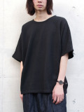 "Iroquois (イロコイ) ""INRAY CABLE KNITSEW"" (ニットソー)- BLACK"
