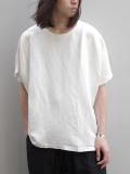 """Iroquois (イロコイ) """"LI/VIS キャンバス Tシャツ"""" - OFF WHITE"""