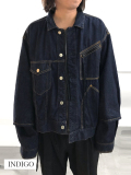"【19AW予約商品】JieDa(ジエダ)  ""SWITCHING JEAN JACKET"" <デニムジャケット>"
