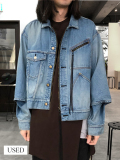 "【19AW受注会商品】 JieDa(ジエダ)  ""USED WASH SWITCHING JEAN JACKET"" <ユーズドデニムジャケット>"