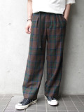 "【19AW】JieDa(ジエダ)  ""PLAID WIDE SLACKS"" <スラックス>"