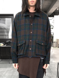 "【19AW】JieDa(ジエダ)  ""PLAID COACH JACKET"" <コーチジャケット>"