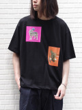"【19AW新作】 JieDa(ジエダ)  ""ANIMAL T-SHIRT"" <Tシャツ/カットソー> - BLACK"